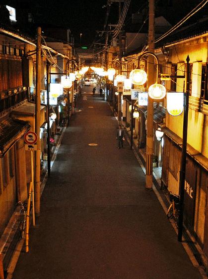 飛田新地の治安について:昼の街並み